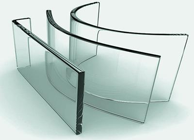 Закаленное стекло, в том числе гнутое